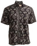 Terracotta Wave (1376-Black) - Johari West