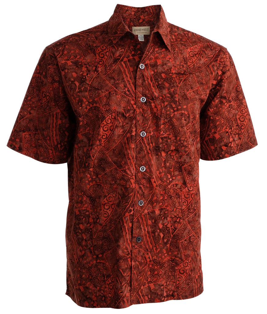 Coral Cascade (1404-Red) - Johari West
