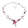 Necklace with Swarovski  code 1077 Multicolor