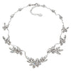 Necklace with Swarovski  code 1180 Crystal white stones