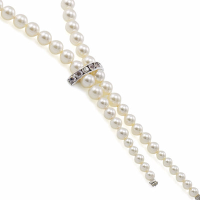 Necklace 1294 White Pearl