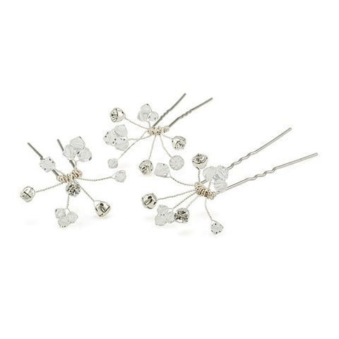 Bridal Hair Pin with Swarovski stones