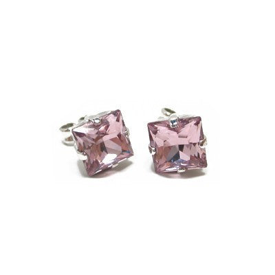 Earrings with Swarovski code 3018 Light Amethyst