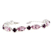 Bracelet with Swarovski  code 2038 Light Amethyst