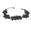 Bracelet with Swarovski  Black Vintage