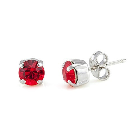Earrings with Swarovski code 3014 Fireopal