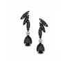 Earrings with Swarovski code 3510 Black
