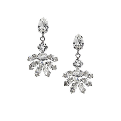 Earrings with Swarovski  Abby