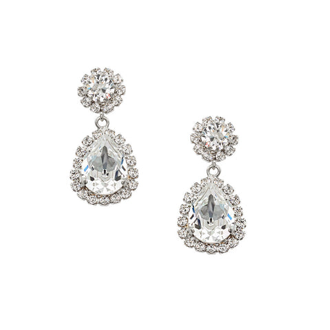Earrings with Swarovski Emily