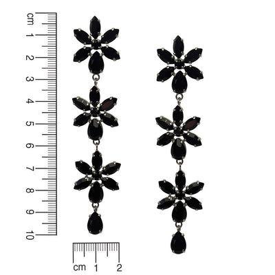 Black Purity Earrings