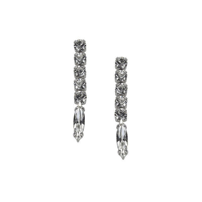 Earrings 3063L Crystal