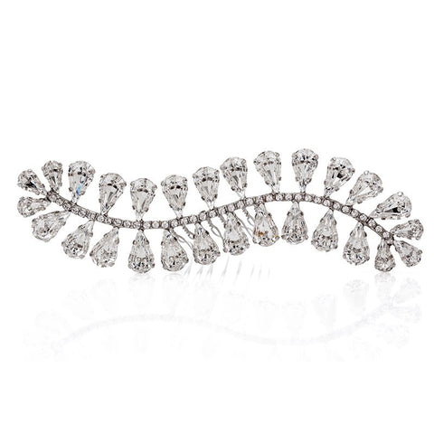 Bridal Hair Ornament with Swarovski 8219 L