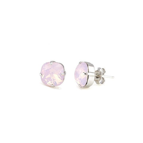 Earrings with Swarovski code 3075 Rose Water Opal
