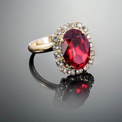 Enchanting Vivian Siam Ring