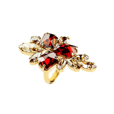 Ring Viktoria Red-Magma