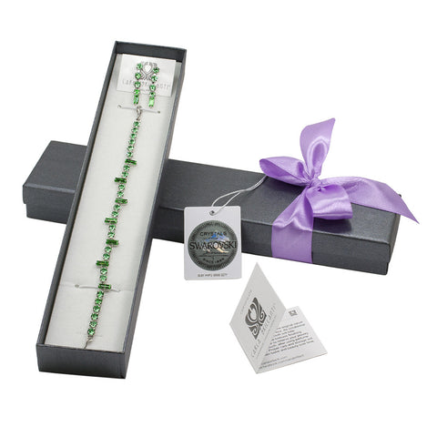 gift jewellery set with Swarovski stones Bella