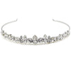 Bridal tiara with Swarovski  code 8147 Crystal white stones