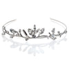 Bridal tiara with Swarovski  code 8158 Crystal white stones