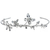Bridal tiara with Swarovski  code 8159 Crystal white stones