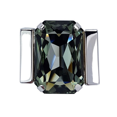 Tranquility – Black Diamond Swarovski Crystal