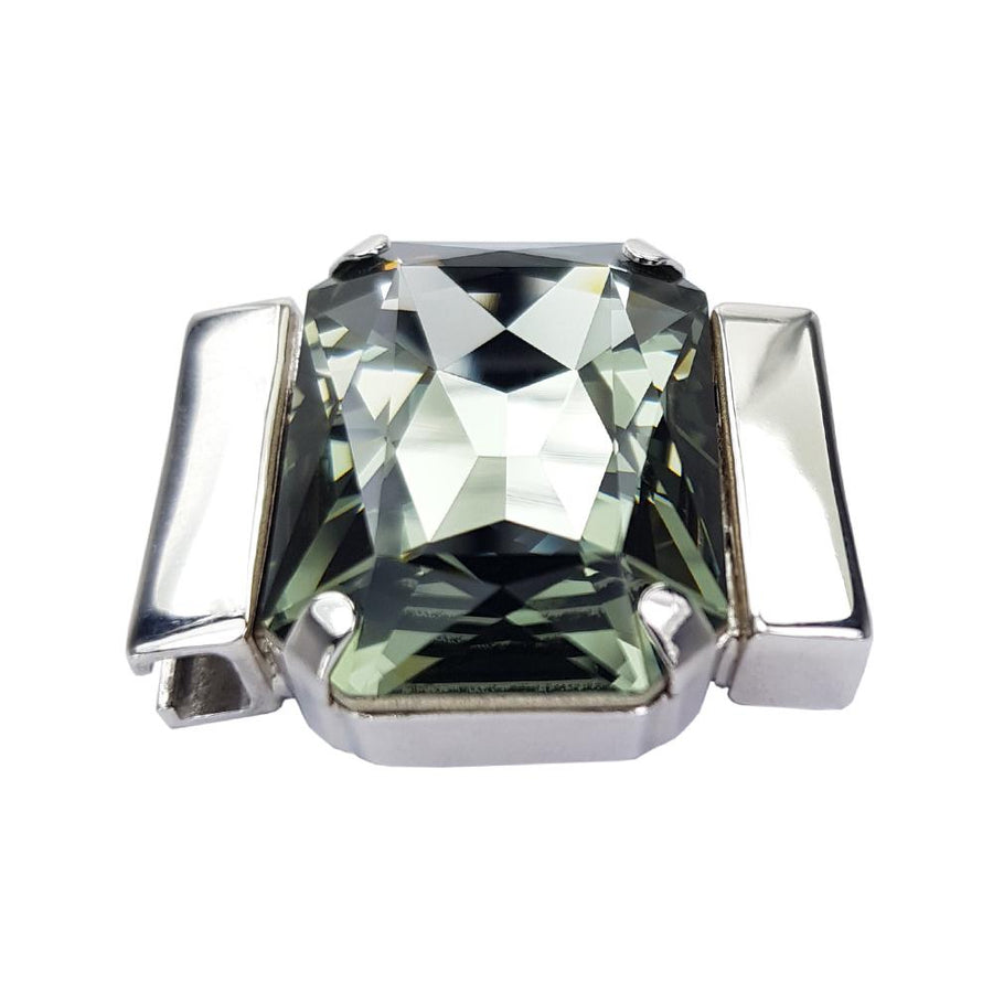 Tranquility Men's – Black Diamond Swarovski Crystal