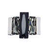 Night Image Men's - Black & Black Diamond Swarovski Crystal