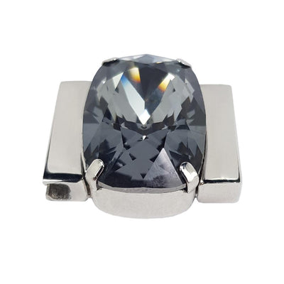 Mysterious Black - Silver Night Swarovski Crystal
