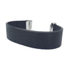 Black `Square` Natural Leather Strap for C&B Bracelets