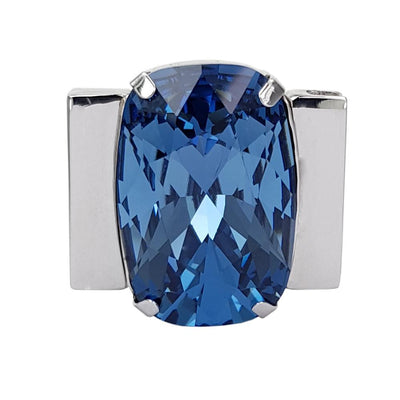 Midnight Blue - Blue Denim Swarovski Crystal