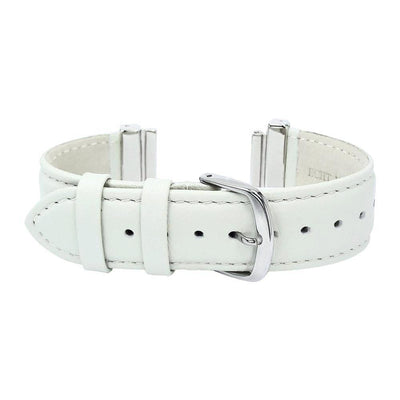 """Elegant"" Cream Natural Leather Strap for C&B Bracelets"
