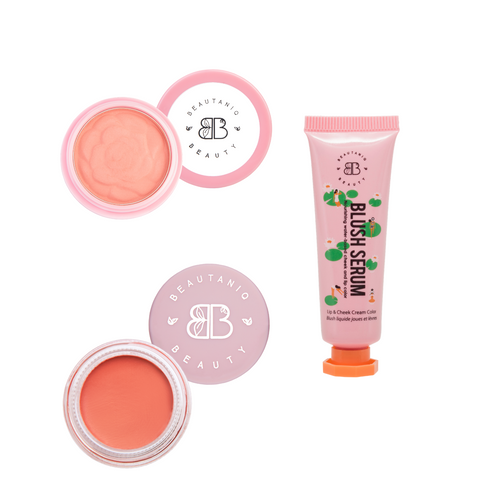 Peach Blush Trio