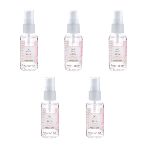 Set of 5 Rose Bud Hand Sanitizers