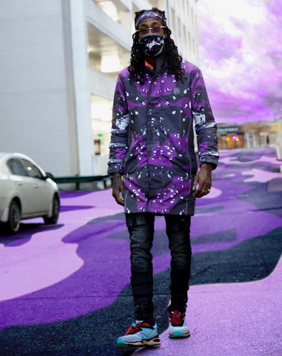 Reversible SS Trench Purple/Orange Camo (Unisex)
