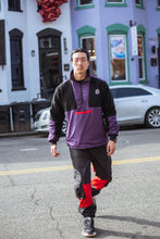 Reversible Microfleece Camo/Purple