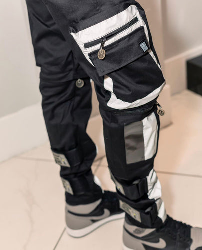 SS Strap Reflective Cargo Pants