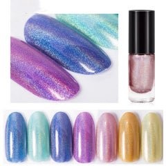 Hologram laser Nail Varnish (NO LAMP)