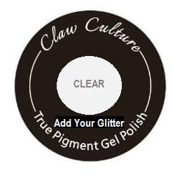 Crystal Clear Gel Base add own Glitter