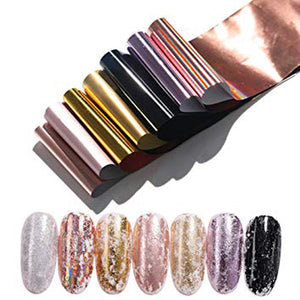 Claw Culture Holographic Nail Foil 10  piece