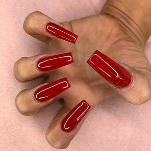 #124 JELLY RED