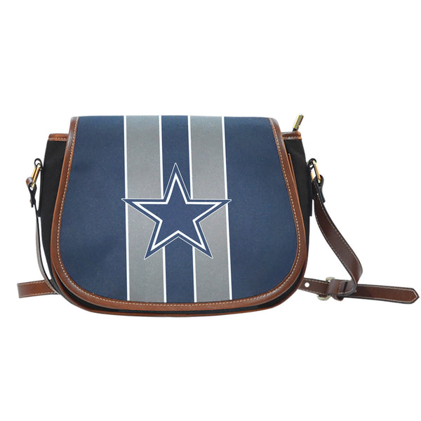 Dallas Cowboys Premium Leather Saddle Bag 40% OFF!