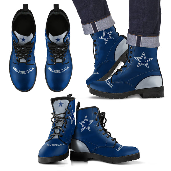 Dallas Football Premium Leather Boots (Womens)