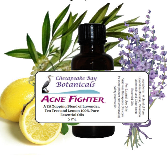Acne Essential Oil Synergy Blend by Pure Therapeutic Oils, LLC.