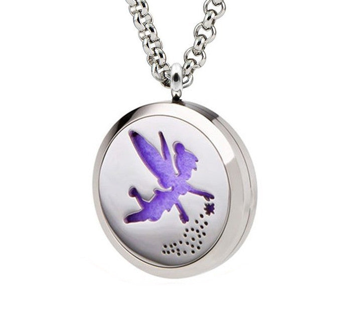 Fairy Aromatherapy Diffuser Necklace for Essential Oils