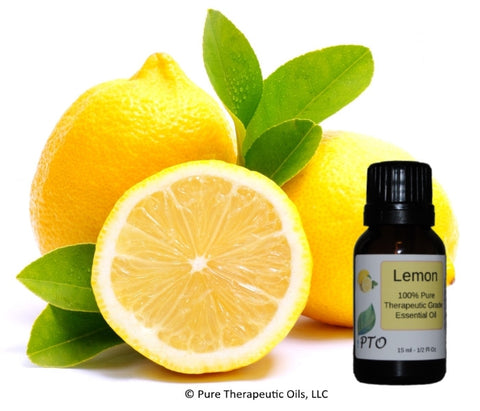 Lemon Essential Oil - Citrus limon Pure Therapeutic Grade