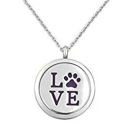 The Puppy Love Aromatherapy Diffuser Necklace