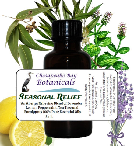 Seasonal Relief Allergy Essential Oil Synergy Blend by Chesapeake Bay Botanicals