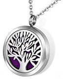 Tree Of Life Aromatherapy Diffuser Necklace for Essential Oils