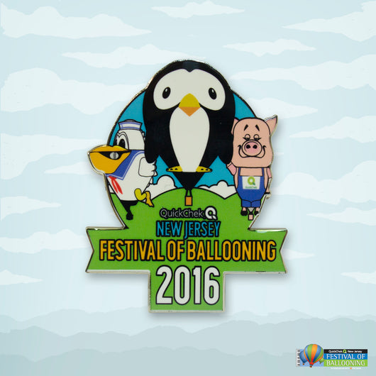 2016 Festival of Ballooning Offical Pin