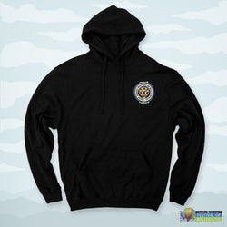 Single Seal Hoodie Black