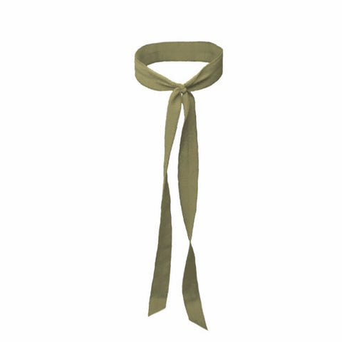 Matte Long Tail in Olive. Bandtz Hair Tie